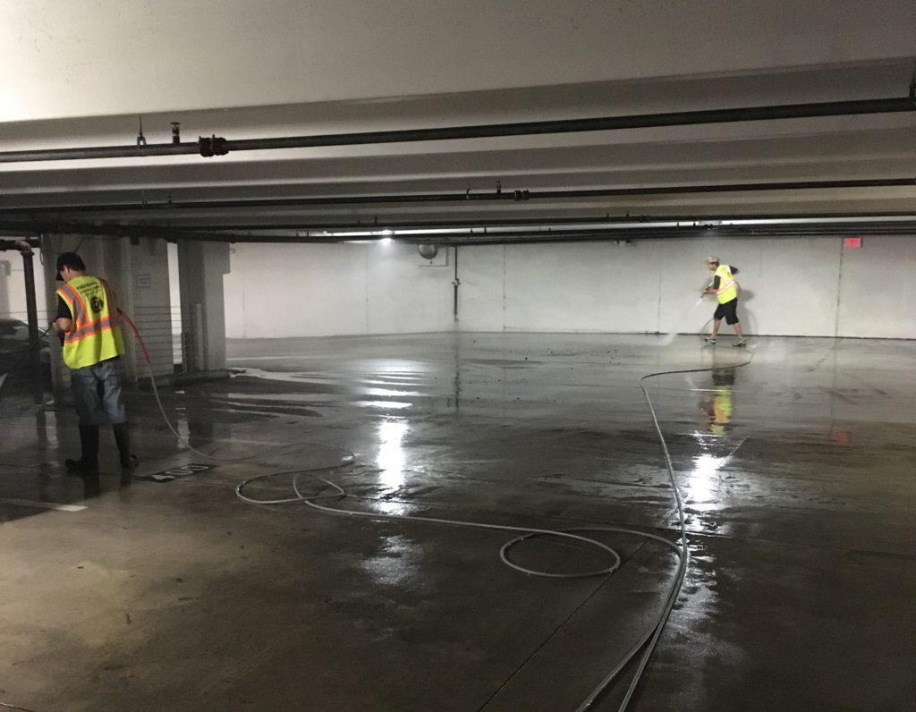 Parking Garage Pressure Washing: Benefits of Cleaner Surfaces