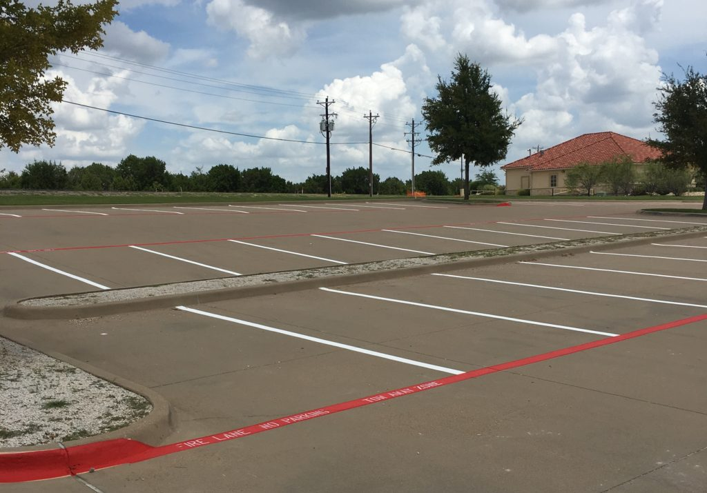 5 Benefits of Parking Lot Striping Services