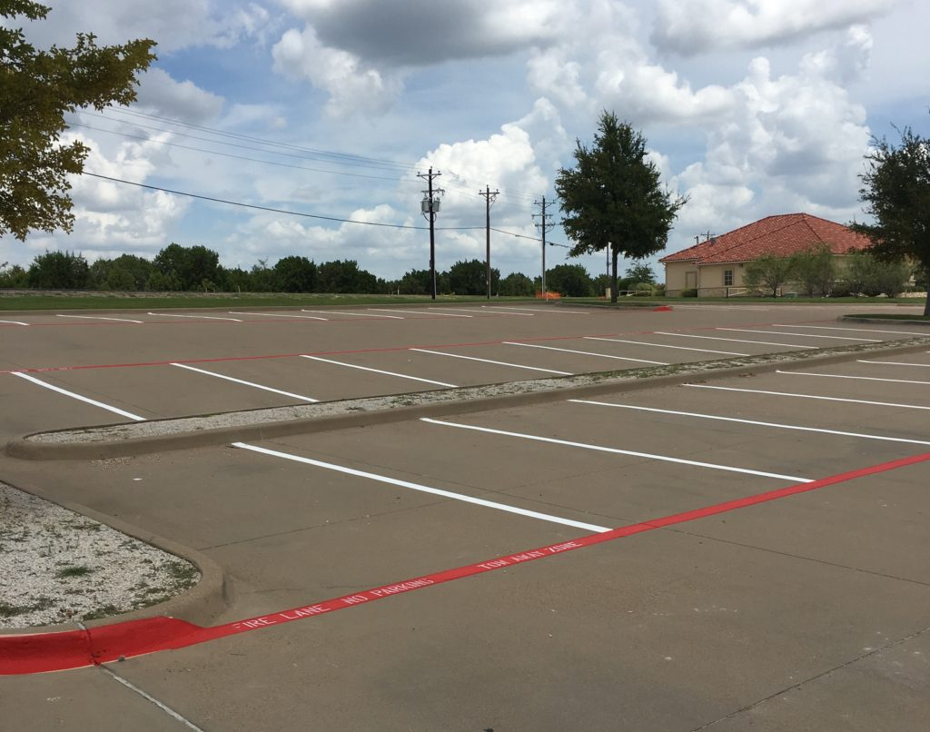 4 Solid Reasons to Pay for Parking Lot Striping Services