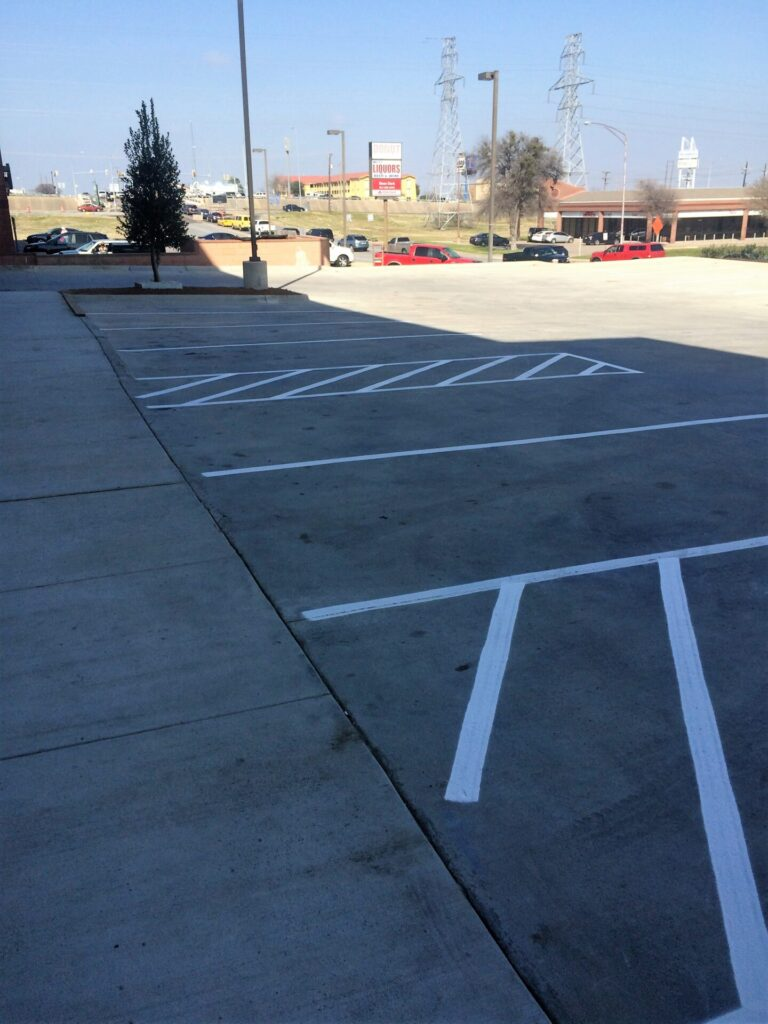 Minimize Commercial Liability with Parking Lot Line Striping