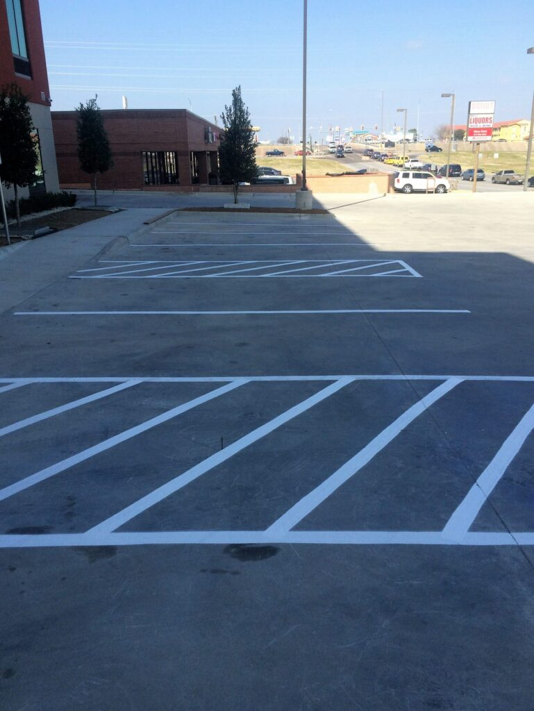 The Benefits of Parking Lot Striping Services and Who Needs It